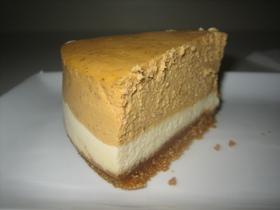 ☆2層で♪パンプキンチーズケーキ☆