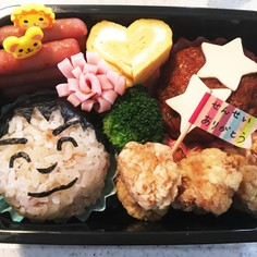 ☆キャラ弁☆幼稚園最後のお弁当