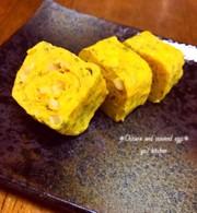 おつまみにも☆チータラ海苔の卵焼きの写真