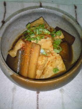 豆腐のどて煮