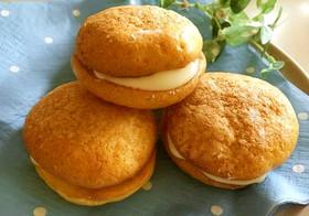 ホットケーキミックスと卵でミニブッセ