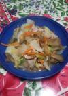 白菜と豚肉の簡単うま煮