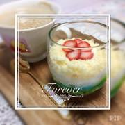 カップでショートケーキ♡簡単☆の写真