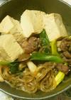 お酒に合う肉豆腐