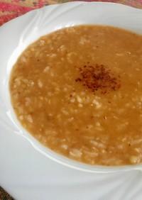 レンズ豆とお米のスープ☆トルコ