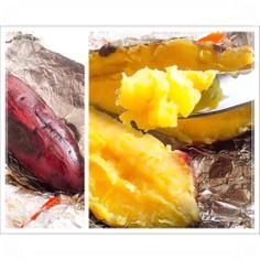 簡単☆鉄鍋でしっとりほくほくの焼き芋