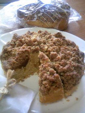 ほろっと美味しい秋のコーンミールケーキ