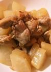 子供も食べれる 鶏肉と大根の中華煮
