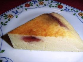 ☆炊飯器でブルーベリーヨーグルトケーキ☆