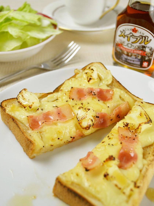 とろける♡チーズメープルトースト