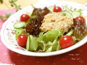 ☆ダイエットに♪もずく・納豆かけサラダ☆