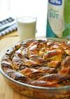 トルコのパン☆ポピーシードの渦巻きパン