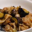 簡単✨豚肉&しめじ&ナスの生姜炒め