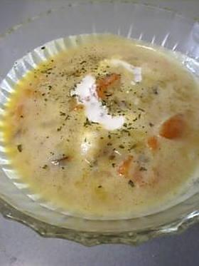 秋の豆乳ほっこりポタージュスープ♪