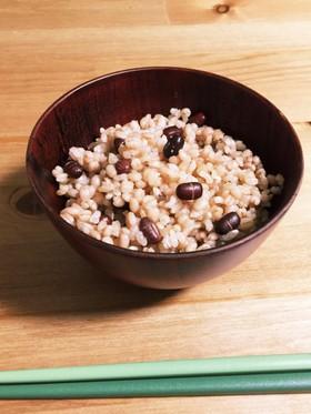 玄米7合ダイエット 飽きたら赤飯アレンジ