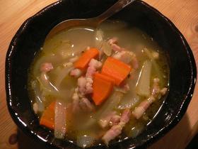 簡単ほかほか野菜スープ