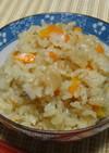 ツナと人参となめ茸の炊き込みご飯