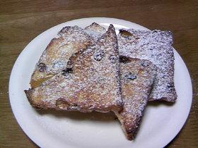 かたくなったパンも復活フレンチトースト