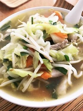 ダイエット 野菜タップリ 麺なしタンメン