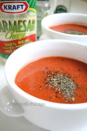 パルメザン☆トマトスープ
