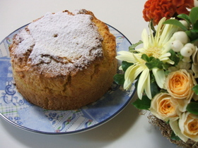 サフランとレモンのティーケーキ