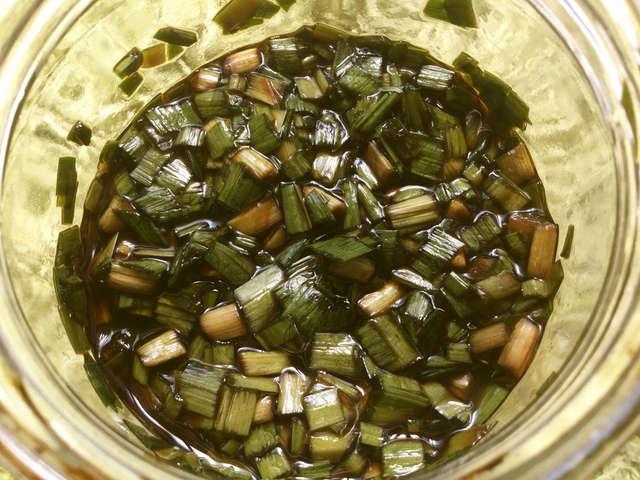 ニラ 醤油