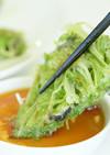みず菜と海苔のチヂミ