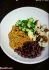 腸内環境を整えるカラフル納豆