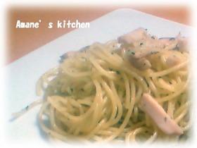 鶏ハムとクレイジーソルトのスパゲッティ