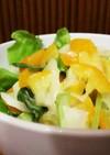 風邪予防に!キンカンと小松菜のサラダ