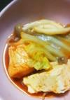 鶏胸なのにやわらか美味しいキムチ鍋