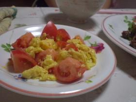 トマトと卵で♡中国の家庭料理
