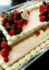 華やか☆★ウェディングケーキ