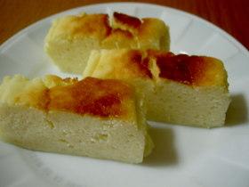 ヨーグルトシュワシュワしっとりケーキ