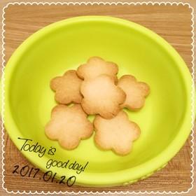 小麦卵乳なしビニール袋でサクサククッキー