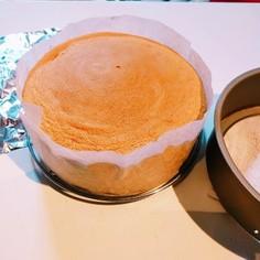 バター不使用!失敗しないスポンジケーキ