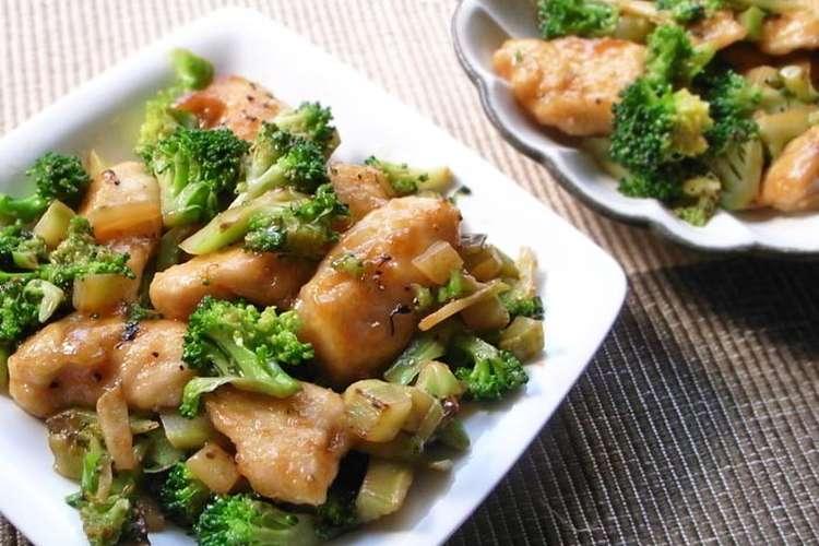ブロッコリー 鶏肉