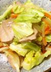 豚モモ肉とシャキシャキ新キャベツの中華丼