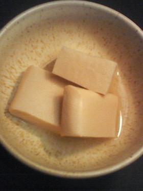 風味絶佳≪高野豆腐の含め煮≫