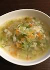 セブンみたいな☆生姜香るもち麦スープ