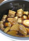 【衝撃】短時間!炊飯器で豚の角煮♪