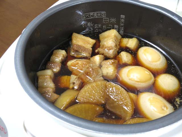 角煮 炊飯器