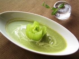 青梗菜(チンゲンサイ)のポタージュ