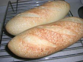 朝焼きパン!フランスパン風