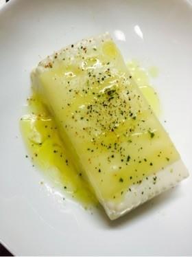 チーズ豆腐☆レンジで簡単