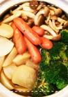 簡単!大根とブロッコリーのスープカレー鍋