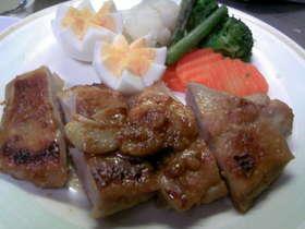 鶏の味噌バター焼き
