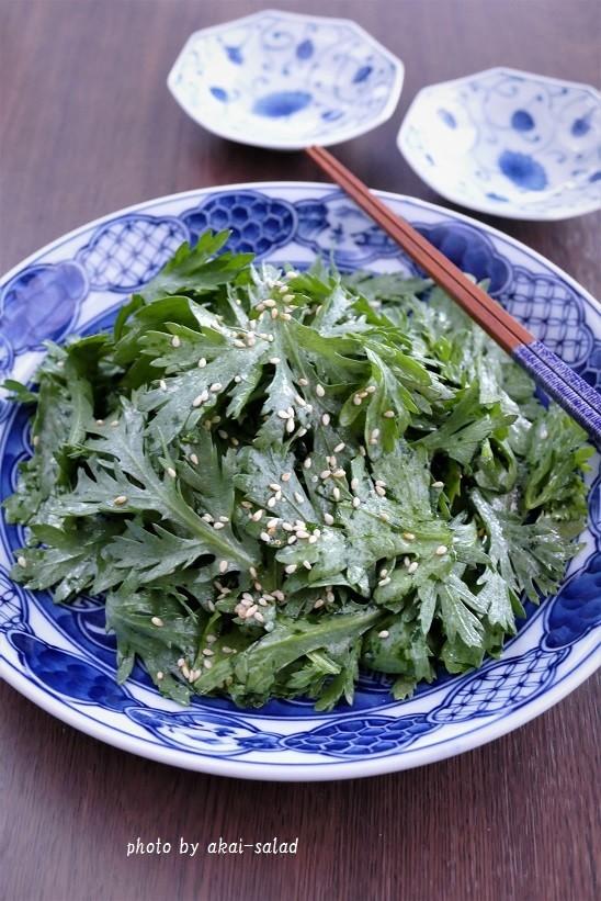 やみつきになる生春菊のナムル風サラダ