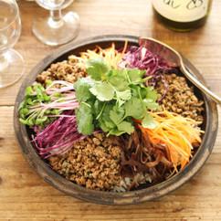 コムアンフー(ベトナム風混ぜご飯)