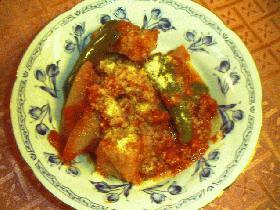 味付けいらずの塩豚deトマト煮込み